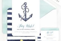 Nautical Party / by Lemonade Moments - Invitations and Party Printables