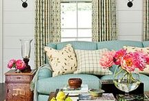 Have a seat ... Live it up! / Sofas, Chairs, Seating arrangement / by Melissa Atkinson
