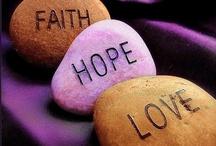 Faith /Hope/love/ joy