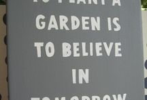 In the Garden / by Jacqueline de Vos