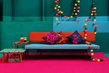 colour inspiration - home decor