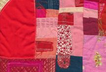 quilts - stitching details