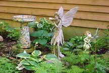 Landscape-Garden Art & Decorations / Idea's, DYI projects. / by Linda Finni