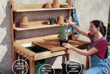 Outdoor-Potting Bench With a Sink / Ideas / by Linda Finni