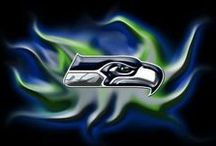 Washington - Seahawks / 12th Man, the best football team. Team is united and plays well. / by Linda Finni