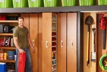 Home-Garage / Storage and Organize Idea's   / by Linda Finni