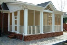 Home-Screened Porches / Like another room with an outside atmosphere. / by Linda Finni