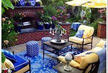 Backyard-Patio Furniture & Accessories / DIY Furniture & Outdoor Patio Furniture / by Linda Finni