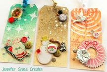 Christmas Wrap & Tags / How to make those Christmas gifts look extra special.