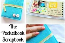 Mini-Books / Scrapbooking Mini-Books - inspiration for little books filled with photos and memories.