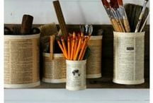 Recycle Reuse Repurpose / Awesome ways to use what you've got, get crafty & a few cool tips too. / by Tracy Johnson