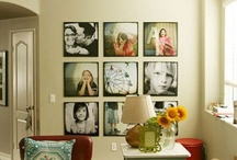Picture Display / Get some pictures on the wall! / by Tracy Johnson