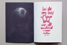 Editorial & Book Design / by heather mullins