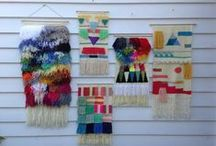 Wall Hanging Love / Bohemian Inspired Wall Hangings