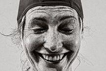 faces / Gesichter und Augen die Geschichten erzählen / by SeifenDealer