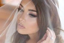 Bridal Makeup Inspiration / Beautiful Bridal looks from natural to glam ! #bridal #brides #houseoflashes