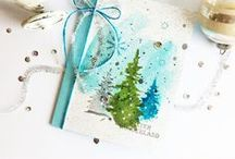 Christmas Cards / Handmade Christmas cards inspiration... I really should start early this year!