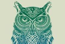 The Owl / Spirit animals, tattoos, photos that resonate with me