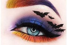 HOLloween Makeup Inspiration / Halloween makeup using our products! Sure to scare or wow anyone.