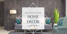 Home Decor / Ideas creativas y decoracion para el hogar