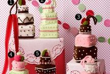 cakes, cupcakes, and other sweets
