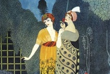 Vintage Illustrations & Magazine Covers - Vogue, Bazaar & Others / by Moonlight Rain
