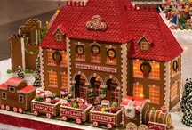 Gingerbread Houses / by Ann Mccarron
