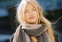 Scarves // street fashion