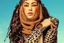 Scarves // ethnic inspiration