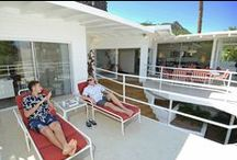 """Howard Hughes Mini Estate, Palm Springs CA / """"Howard Hughes Mini-Estate"""" Palm Springs Celebrity Vacation Rental Pool Home with amazing Mountain views 