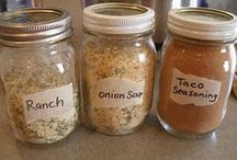 dressings, spreads, and mixes