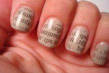 Finger nails / by Lindsay Curtis Huber