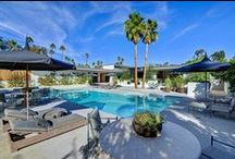 Luxury Homes & Estates Palm Springs / Luxury collection of homes from Palm Springs to La Quinta. #travel #OranjPalm