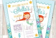 Mermaid Under the Sea Party / Party design ideas for a mermaid under the sea birthday