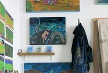 Artist Studios / The workspaces behind the works of 20x200 artists, our fave folk, all-time greats and inspiring strangers...