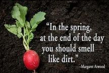 """Gardening Quotes and Inspiration / """"If you want to be happy for a lifetime, be a gardener"""""""