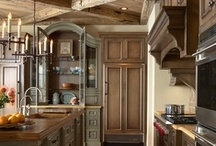 Kitchens / kitchens kitchens kitchens decor / by Mariel Hale