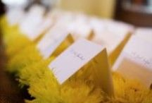 Geranium Lake Weddings: Yellow