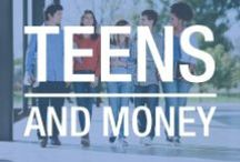 Young, Wild & Free...with money / As a teenager, having a job can mean financial independence and spending leisure. As a parent, teaching your teen to be smart with this money can be tiring, but have no fear! We're here with plenty of advice for financial education.