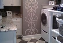 Laundry Rooms / Cleaning / by Debbie De Palma