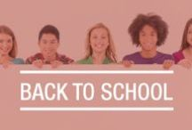 Back-to-School / Going back to school signifies the end of summer and the beginning of a great new school year. Here you can find great resources for back to school savings and survival tips.