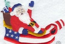 Christmas -- Santa / christmas christmas christmas santa pictures decor decorating ideas / by Mariel Hale