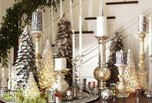 Christmas -- Tablescapes / christmas christmas christmas tablescapes tablescapes tablescapes decorating decor table top displays / by Mariel Hale