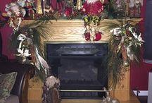 Christmas -- Mantels / christmas christmas #christmas mantels mantels mantels mantles mantles mantles decoration / by Mariel Hale