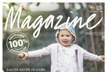 Magazine / Aussie Farmers Direct Magazine is a quarterly magazine that makes it way into the homes of our 130,000-plus Australian customers with their order, deftly delivered by their local Milko (our superstar franchisees)