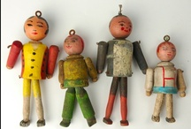 Figures, Manikins, Dolls, Puppets & Marionettes / by Tina Busch
