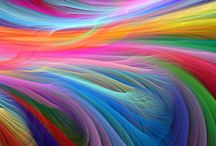 Amazing Color Love / Mostly fractal art, but also just beautiful color / by Pink Nicklz