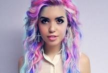 Hair Juice / Hair up-dos. Colours.