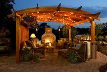 Campfires and Backyard living / Fire pits and outdoor fun.  / by Andrea Strawther