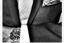 MEN'S STYLE / Orologi indossati con stile. Wear watch with style